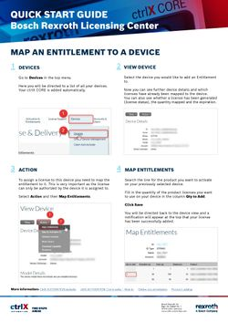 MAP AN ENTITLEMENT TO A DEVICE I